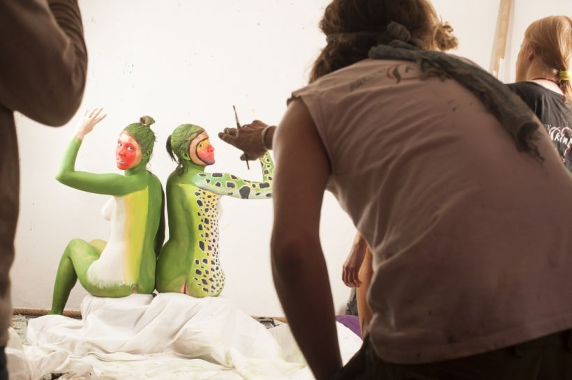 making of the frog 20