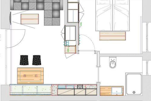 Gartenappartements Die Mühle_Apartment 1 and 2