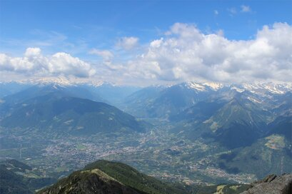 Panoramic view on Merano