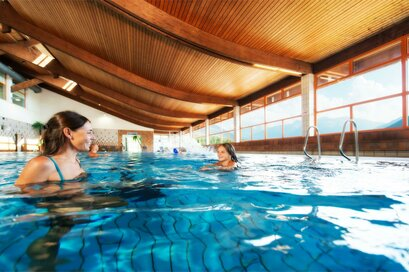 Indoor pool in the Sport centre in Malles Venosta/Mals