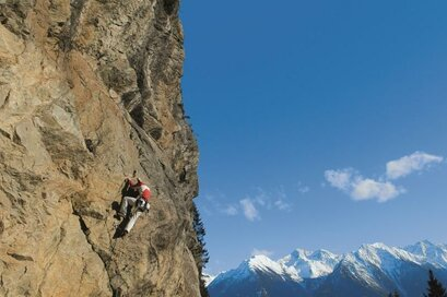 Climbing in the Passeier Valley