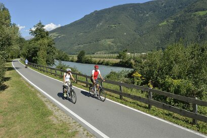 Bike route along via Claudia Augusta - Naturno