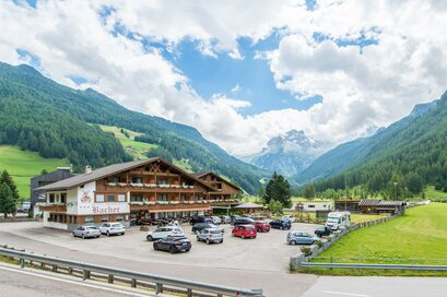 Hotel Bacher Rein in Taufers Riva di Tures