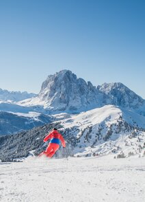 Skiing in South Tyrol/Italy  Dolomiti Superski