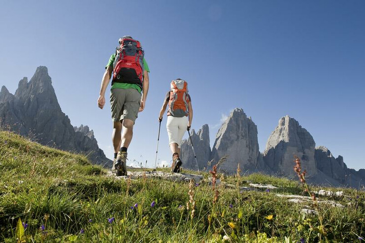 A circular hike round the striking peaks of the Three Peaks is one of the highlights of a holiday in Alta Pusteria.